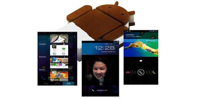 Androd 4.0 loveste mai multe tablete si smartphone-uri