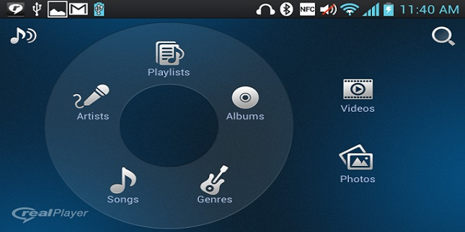 RealPlayer pentru Android