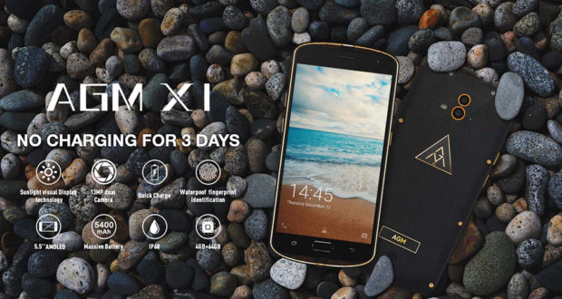 AGM pregateste un smartphone cu rating IP68 si SoC Snapdragon 835