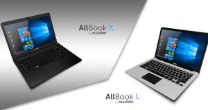 Allview dezvaluie notebook-urile AllBook X si AllBook L