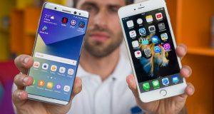 Avantajele oferite de Samsung in raport cu iPhone